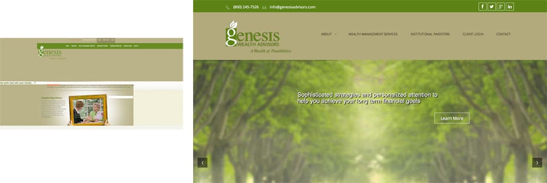 Wealth Management/Financial Planners: Genesis Wealth Advisors, LLC