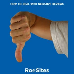 Blog Post: How to deal with negative reviews