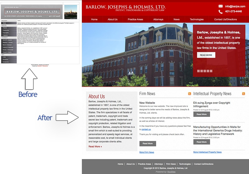 Law Firm: Barlow, Joseph & Holmes