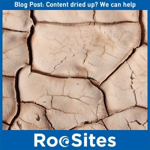 Content dried up? We can help