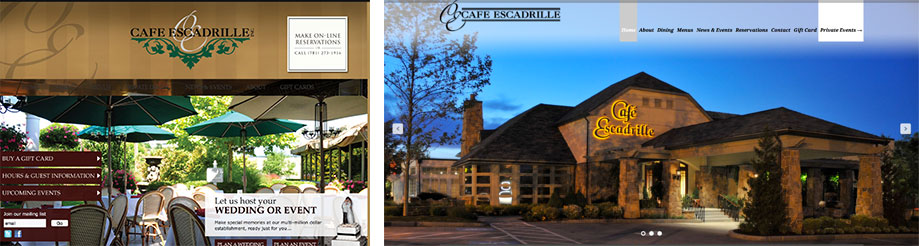 Restaurant: Cafe Escadrille