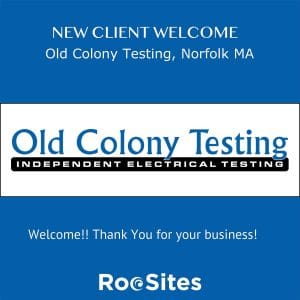 New Client Welcome Old Colony Testing