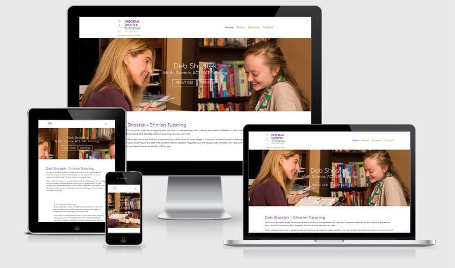 Deb Shostek - sharon-tutoring-responsive