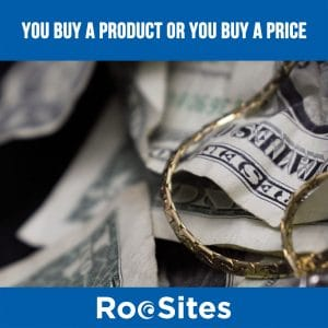 Blog Post: You-buy-a-product-or-you-buy-a-price