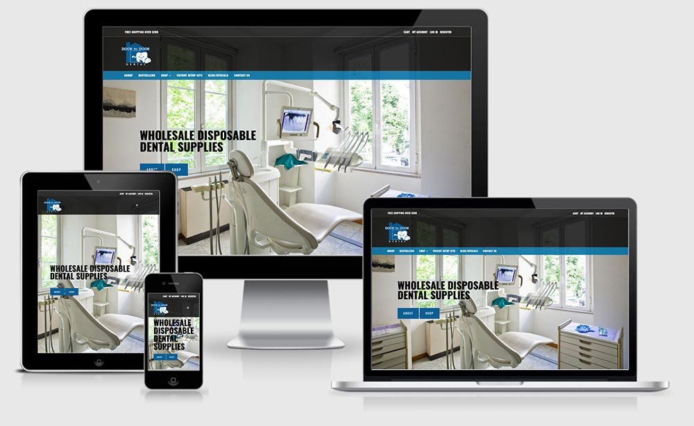 Door To Door Dental - Responsive Views