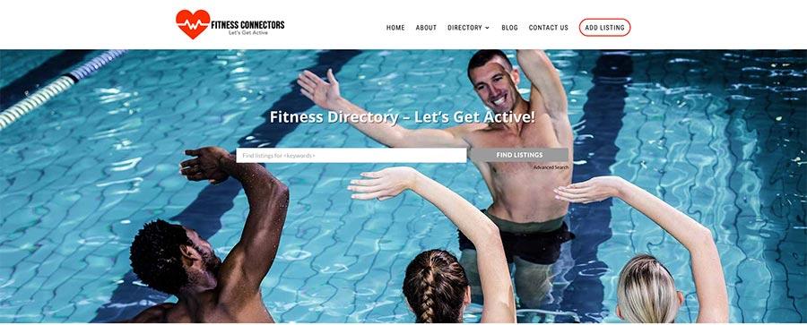 Fitness Connectors Screenshot