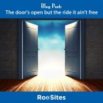 Blog Post The door's open but the ride it ain't free web