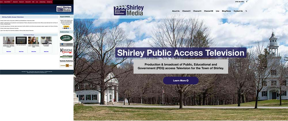 Shirley-Public-Access-Television-b4-and-after